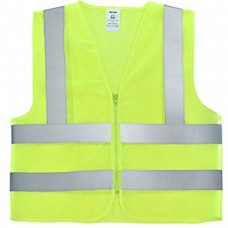 safety jacket with pocket fabric