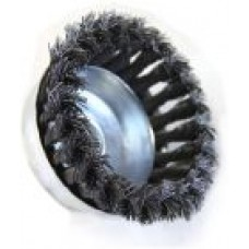 85mm x M14 Knotted (Twisted) Wire Wheel Cup Brush